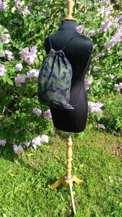 Sportovní vak,batoh maskáčovina.