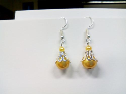 Zlaté perly s kaplíky
