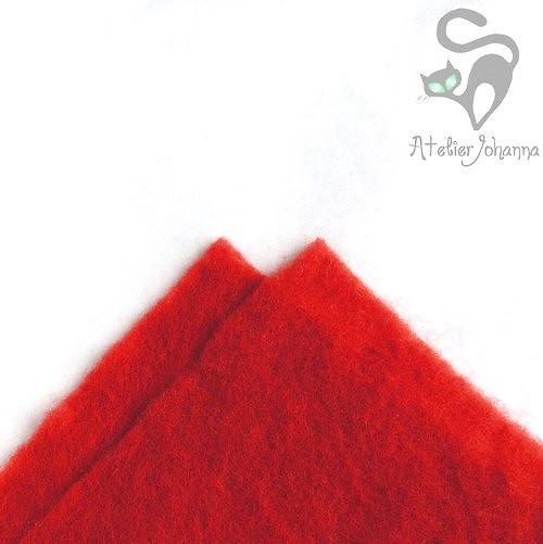 Prefelt červená