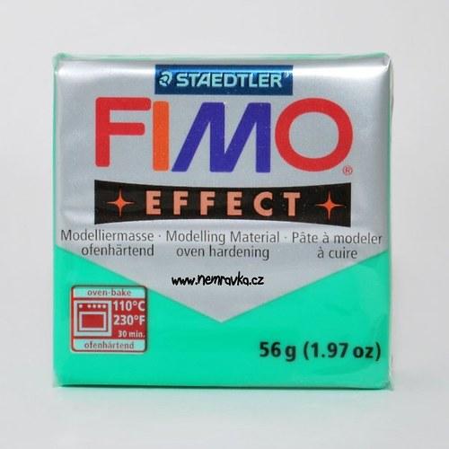 FIMO Effect / Transparentní zelená (504)