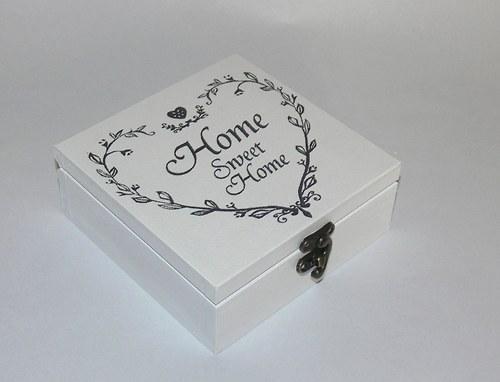 "Krabička \""Home Sweet Home\"""
