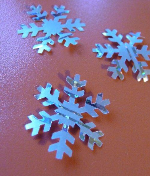 Sněhové vločky III. - 20ks