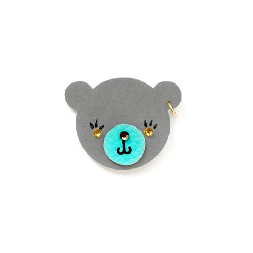 Reflexní brož medvídek Míša
