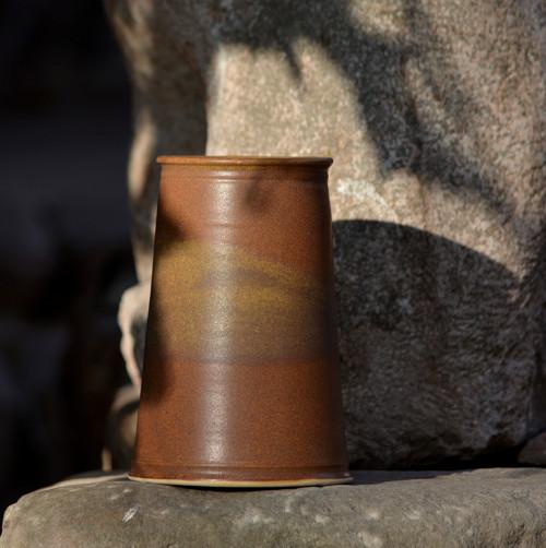 Kameninová váza/ vázička Temelín - Klasik Rustikal