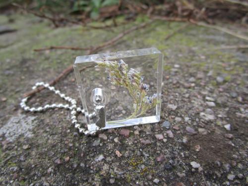 levandulová klíčenka