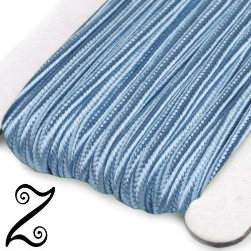 Sutaška, cashmere blue, 3 mm (1m)
