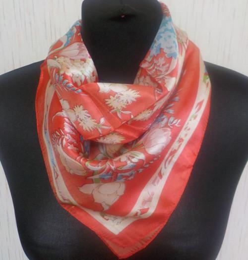 Malý šátek z hedvábí—Květiny 11