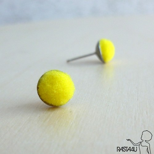 Pecky plyšáci  - žlutá