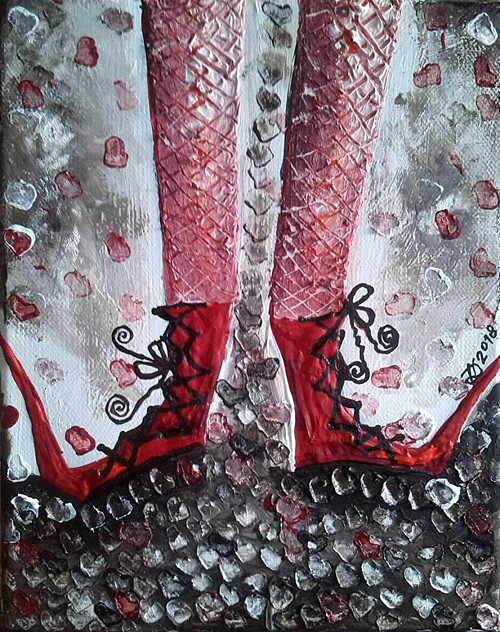 Crimson  Boots
