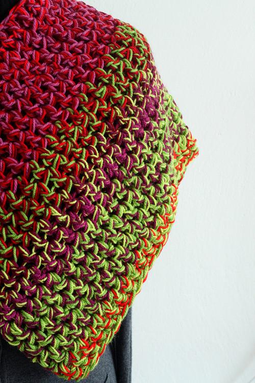 Melír...zelená, červená, cyklámen