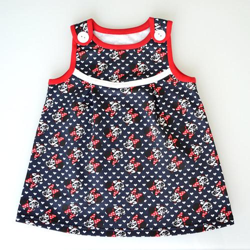 Dívčí šaty Minnie velikost 74/80