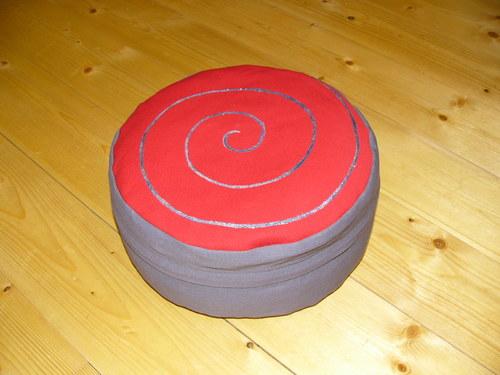 Pohankový polštářek, sedák, bobík, Zafu,18 cm