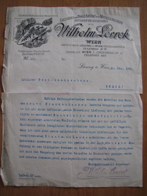 Wilhelm Lovrek. r. 1906