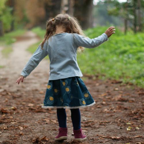 Podzim v kaštanové aleji ...holčičí II 3-5 let