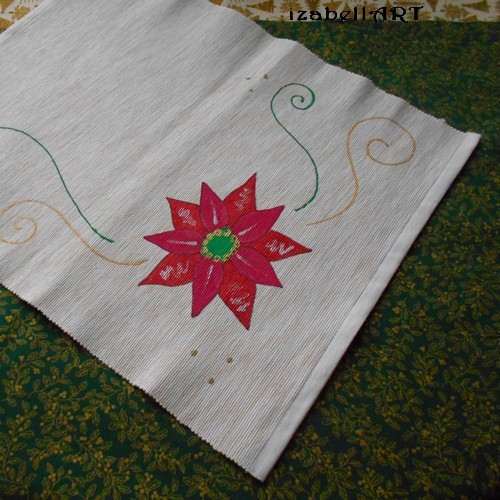 Prostírání Poinsettia 5