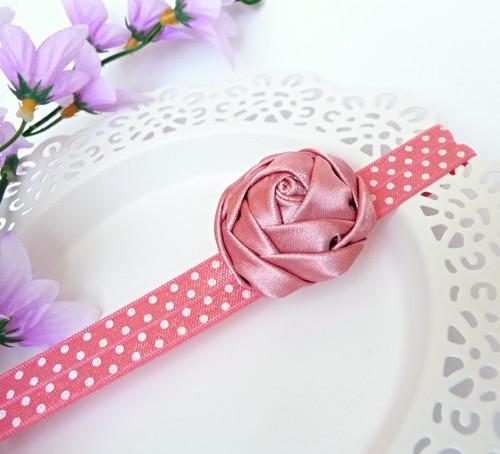 Čelenka Růžová růže II