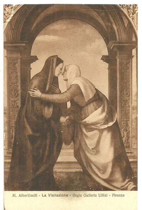 Umělecká pohlednice M.Albertinelli