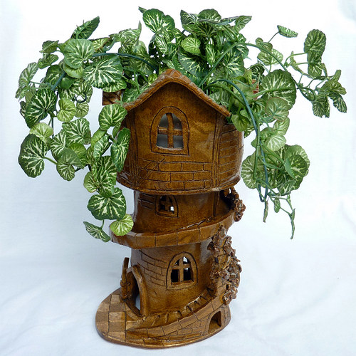 Věž velká čokoládová - pro převislé rostlinky