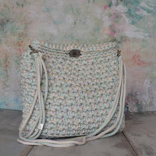 Jemně promelírovaná - kabelka