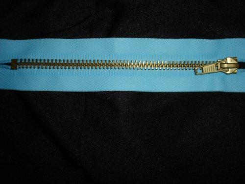 kovový zip 15cm