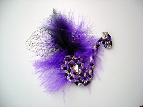 Páv - violet