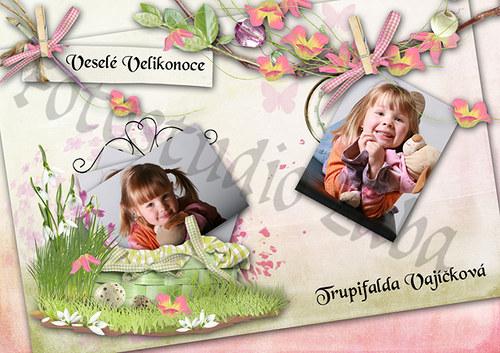 Velikonoční pohlednice č. 4
