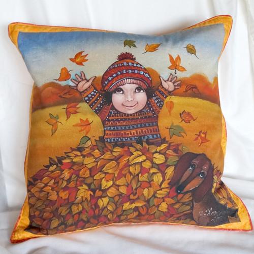 Radost z podzimu (50x50 cm) 100 % bavlna