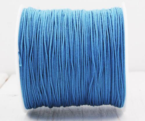 20m 65 22yrd Tyrkysově Modré Nylon Kabel Makramé V