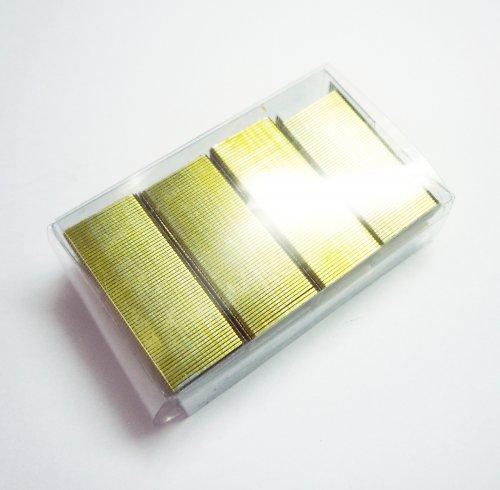 Sponky do sešívačky žluté (2 bloky = cca 125 ks)