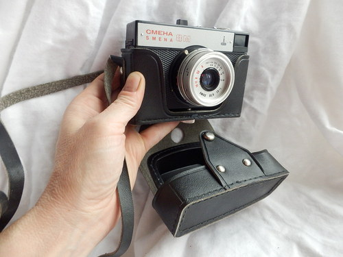 Fotoaparát SMENA i s pouzdrem