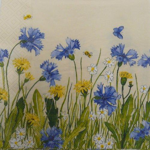 Ubrousek - luční květy