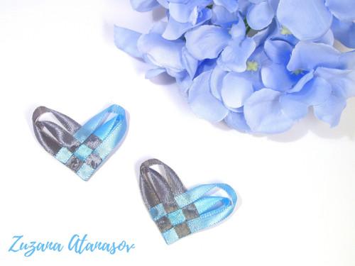 Srdíčkové vývazky - různé barvy