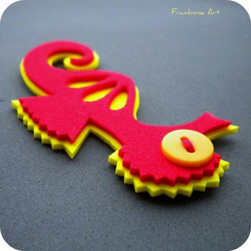 Červeno žlutý mořský koník