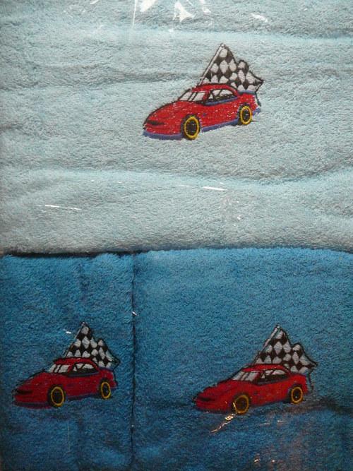 Sada pro kluky 2 ručníků a osušky