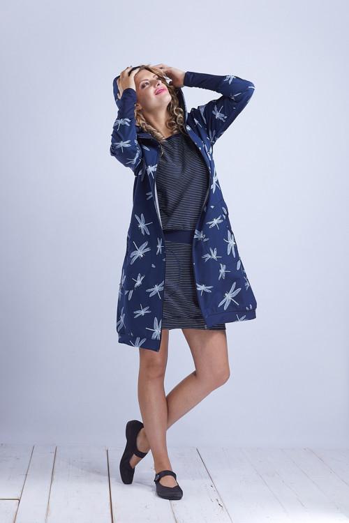 Coat Softshell Blue Dragonfly