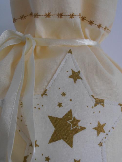 Vánoční pytlík s hvězdou