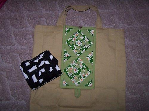 Skladná nákupka - ekologická :-)