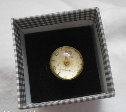 Naprosto ORIGINÁLNÍ prstýnek z hodinek - Ag 925
