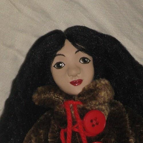 autorská panenka Inuitka Nina