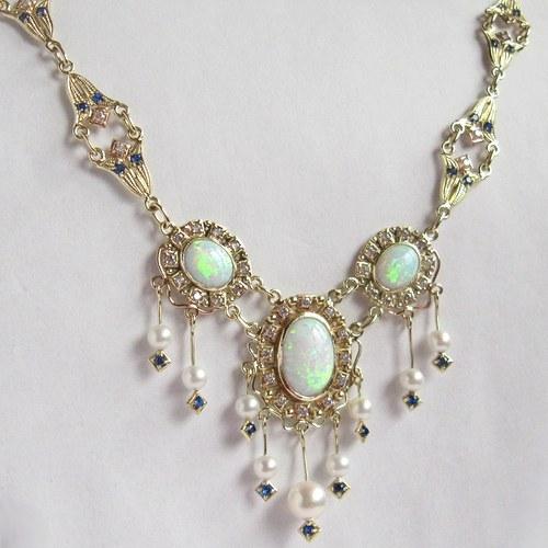 Královský (luxusní náhrdelník; Au 585/1000; 31,6g)
