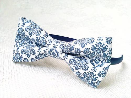 Blue orient headband