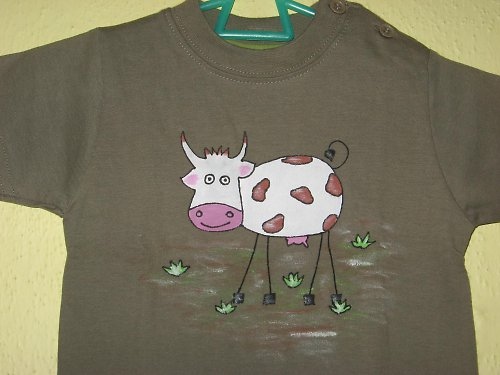 VESELÁ KRAVIČKA (68) - dětské tričko