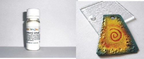 PTS02 - Plotýnkový smalt BÍLÁ cca 10g