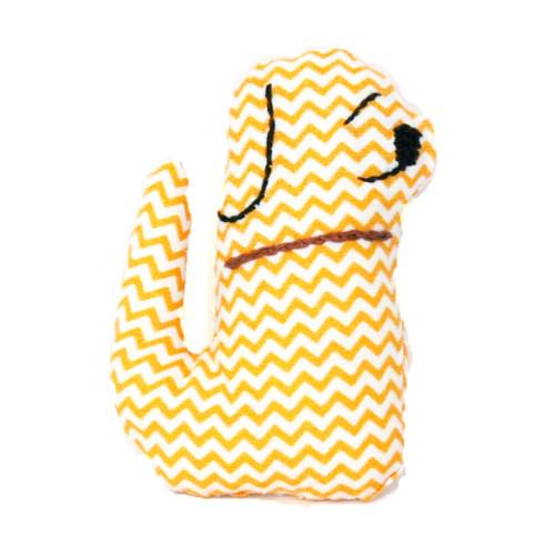 Pejsek - žlutý chevron