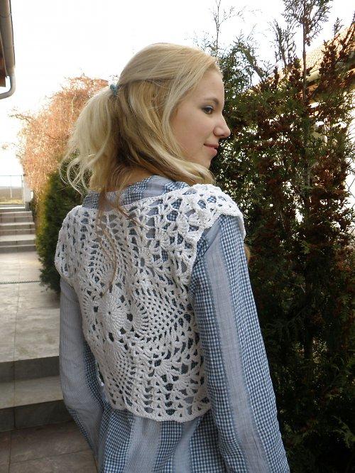 Háčkovaná vesta Gypsy girl