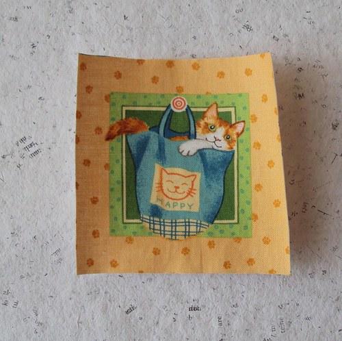 Hravé kočičky 3 - nažehlovačka