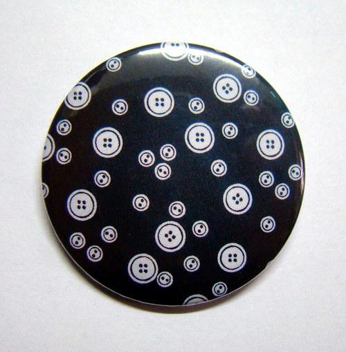 KNOFLÍKY - placka - button - 44 mm
