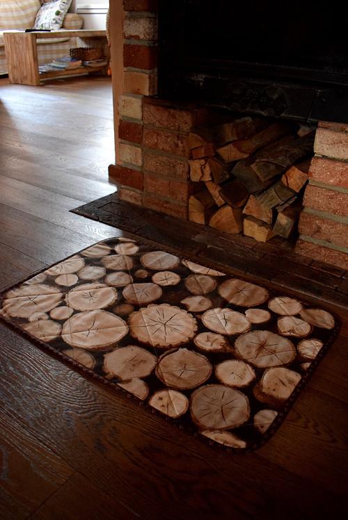 Podložka na zem - dřevo