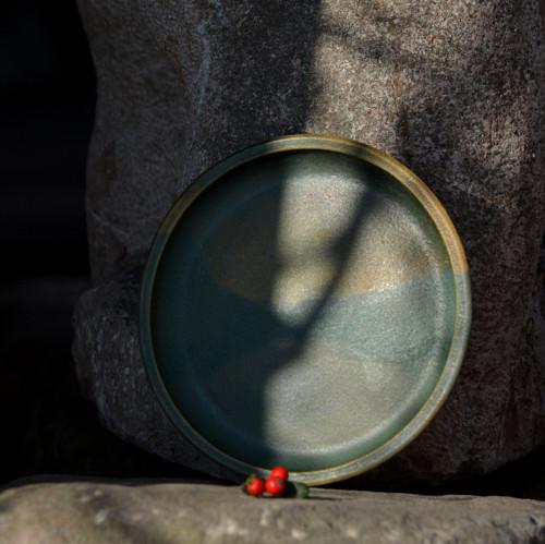 !!!SLEVA!!! Dezertní talíř 18 cm - Z mechu