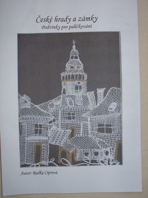 Podvinky pro paličkování - české hrady a zámky